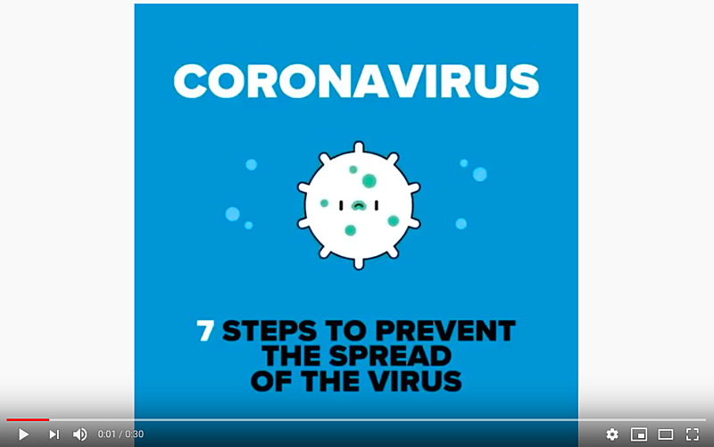 7 simple steps to protect yourself and others from the coronavirus
